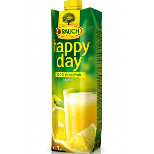 Džús HAPPY DAY grapefruit 100% 1 l
