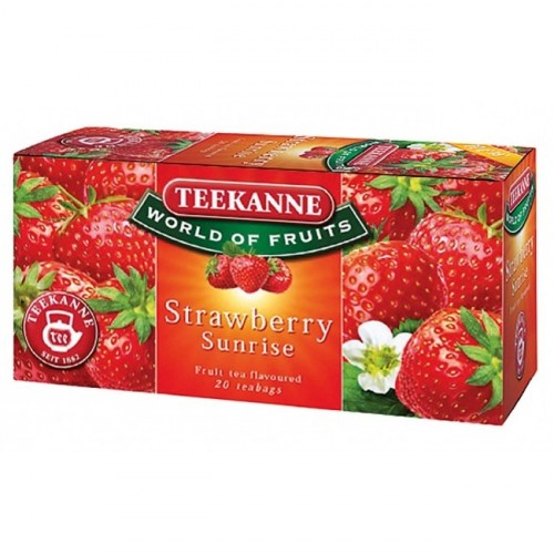 Čaj Teekanne  ovocný Strawberry Sunrise 50 g