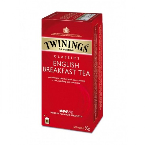 Čaj Twinings čierny English Breakfast 50 g