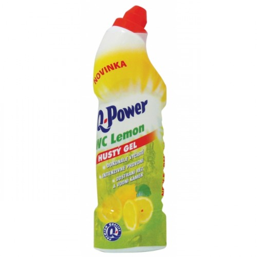 Q-Power čistiaci WC gél Lemon 750ml
