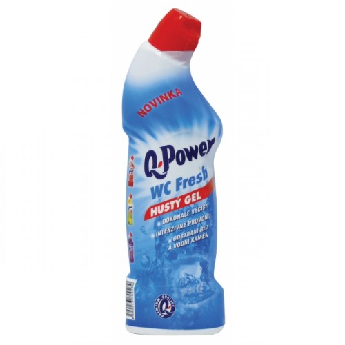 Q-Power čistiaci WC gél Fresh 750ml