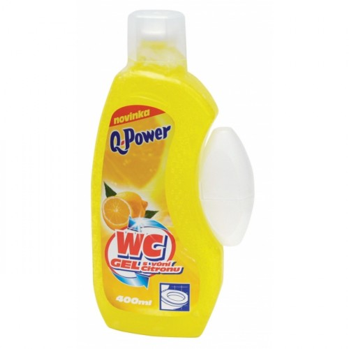 Q-Power WC gél Citrón 400ml