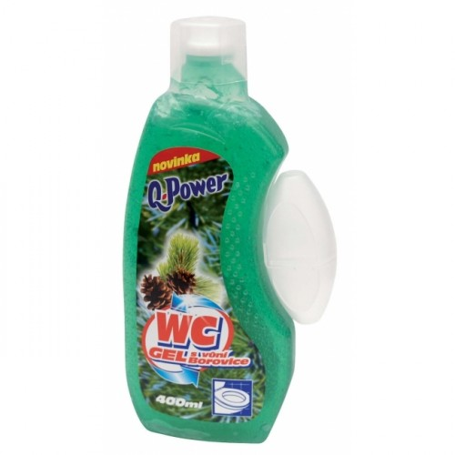 Q-Power WC gél borovica 400ml