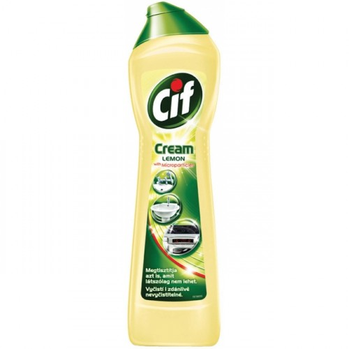 Cif Cream Lemon tekutý piesok 720g/500ml