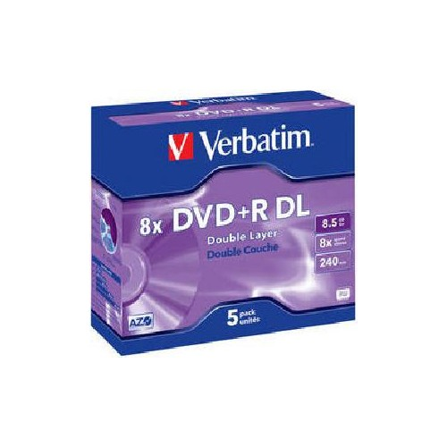 Verbatim DVD+R 8x DL 8,5GB