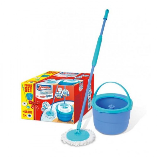 Mop súprava Spontex Full Action System Plus-red box