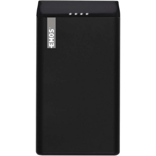 Power bank EMOS AlphaQ 10, 10000 mAh, čierny
