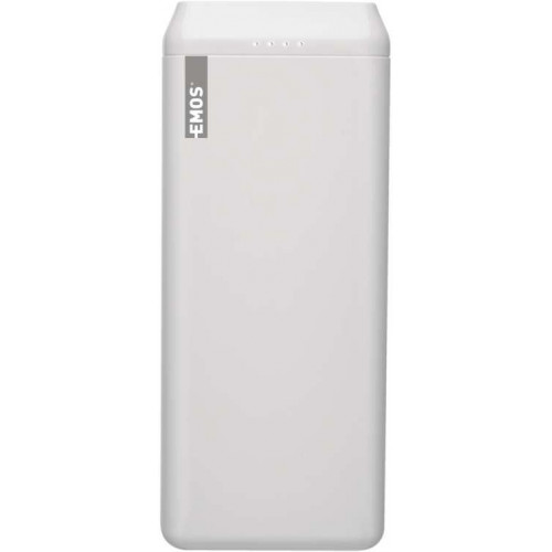 Power bank EMOS AlphaQ 20, 20000 mAh, biely