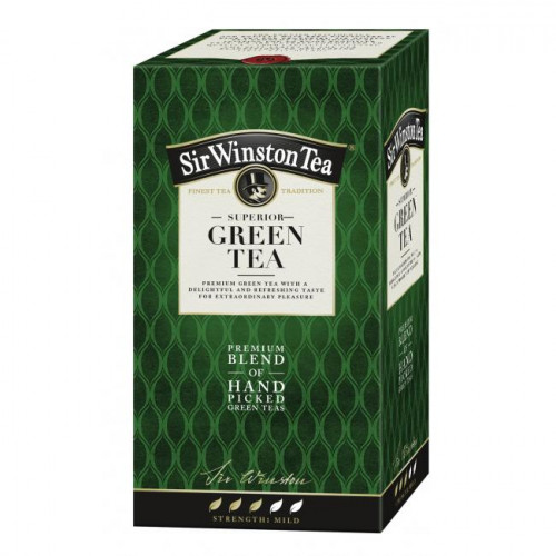 Čaj SIR WINSTON Superior Green Tea 35g