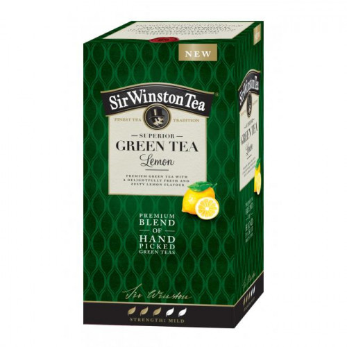 Čaj SIR WINSTON Green Tea Lemon 35g