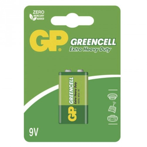 Batéria GP GREENCELL 9V blok
