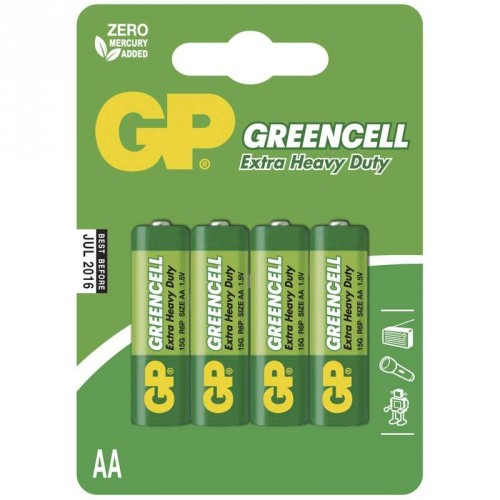 Batéria GP GREENCELL AA