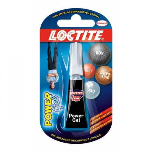 Sekundové lepidlo Loctite Super Bond Power Gel 2g