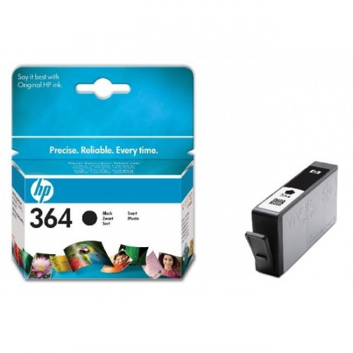 Atrament HP CB316EE 364 black