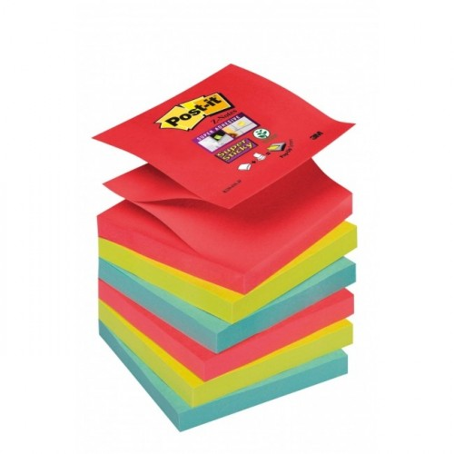 Z-bločky Post-it Super Sticky &quot,Bora Bora&quot, 76x76mm